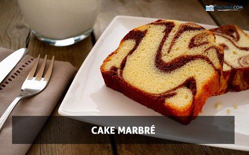 Cake Marbré par Rachik Bouanani sur www.rachikb.com