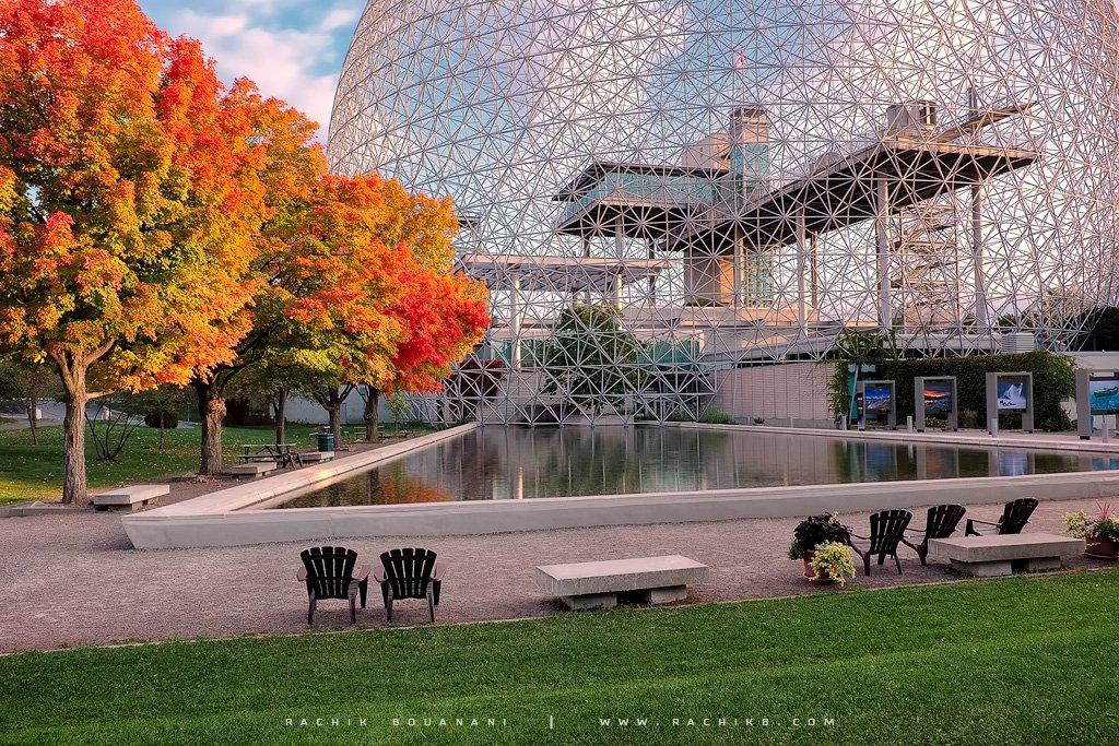 Biosphere de Montréal - Ile ste-Hélène par le photographe Rachik Bouanani sur rachikb.com
