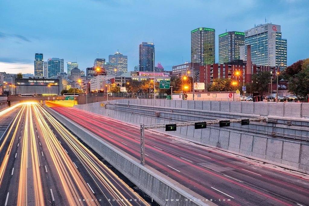 Centre Ville de Montréal par le photographe Rachik Bouanani sur rachikb.com