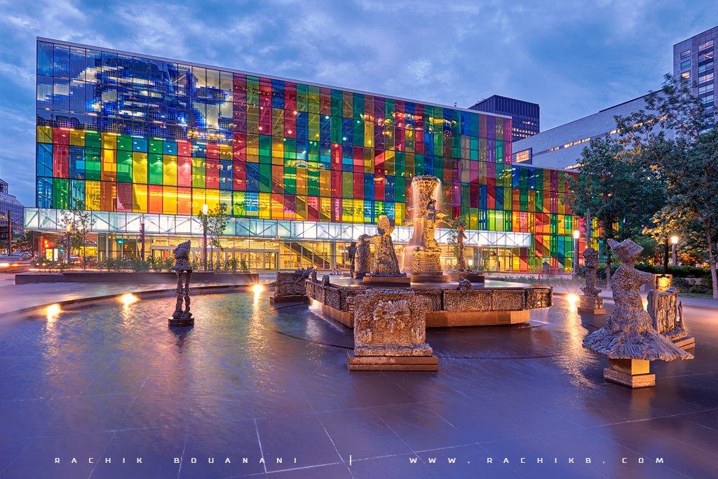 Palais des congres de Montreal par Rachik Bouanani sur www.rachikb.com