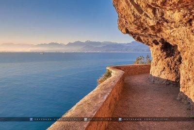 Sentier entre le Cap Carbon et la Pointe Noire - Bejaia - by Rachik Bouanani